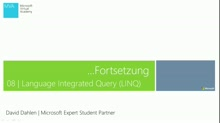 08 - Language Integrated Query (LINQ) Teil 2