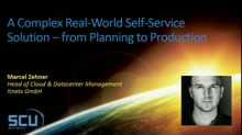 A complex real-world self-service solution – from planning to production