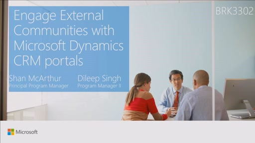Engage external communities with Microsoft Dynamics CRM Portals