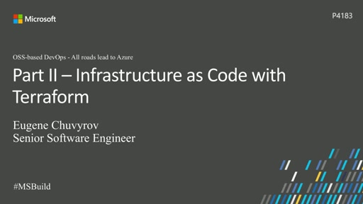 OSS-based DevOps - All Roads lead to Azure, Part II: Infrastructure as Code with Terraform