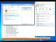 Lync 2013: Show the contact list of a user in a WPF application