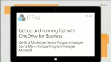 Get up and running fast with OneDrive for Business: planning guidance and best practices