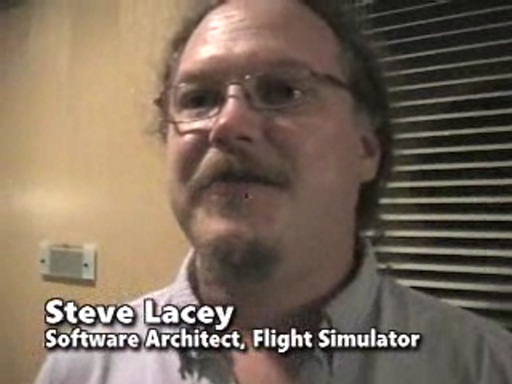 Steve Lacey - Tour of the Flight Simulator team