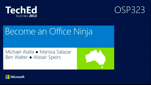 Become an Office Ninja in 60 minutes