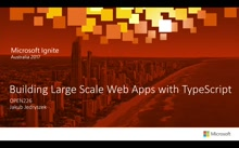 Building Large Scale Web Applications with TypeScript