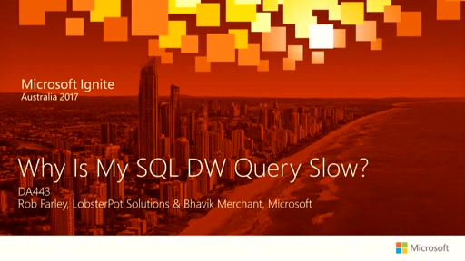 Why Is My SQL DW Query Slow?