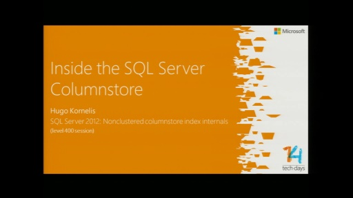 Inside the SQL Server Columnstore