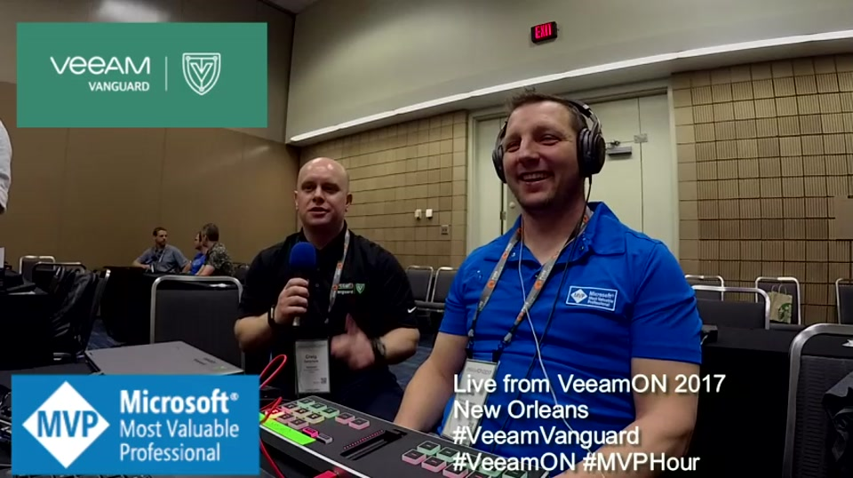 Episode 74 - Interview with Craig Dalrymple at VeeamON 2017
