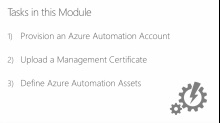 (Module 2) Connecting to Microsoft Azure with Azure Automation