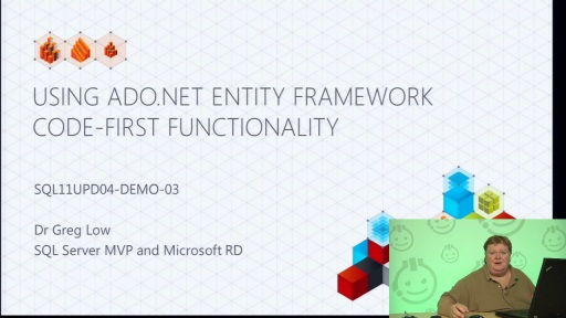 Demo: Using ADO.NET Entity Framework Code-First Functionality