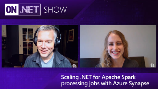 Scaling .NET for Apache Spark processing jobs with Azure Synapse