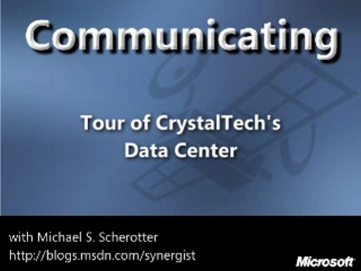 A Tour Through CrystalTech's Data Center