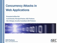 Concurrency Attacks on Web Applications