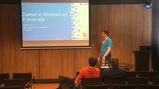Zoeken in Windows en in jouw app
