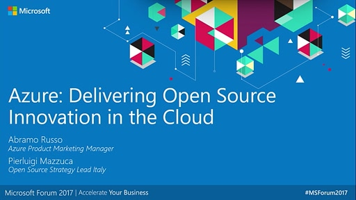 Azure: Delivering Open Source Innovation in the Cloud - Teatro C&E