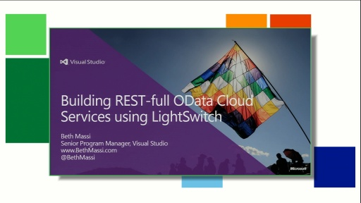 Building REST-ful Data Cloud Services using Visual Studio LightSwitch