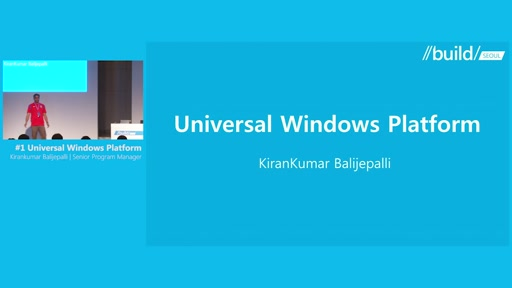 Session1-Universal Windows Platform