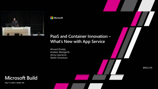 PaaS and Container Innovation – What's new with App Service