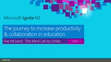 The Journey to Increase Productivity & Collaboration in Education
