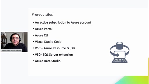 Working with Azure SQL DB Serverless with Carlos Lopez