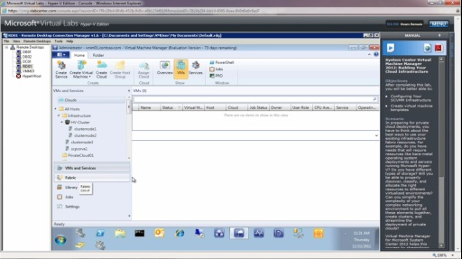 TechNet Radio: Virtual Lab Insider: Building Your Cloud Infrastructure with System Center 2012