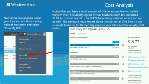 TechNet Radio: IT Time (Part 3) De-provisioning and ROI Analysis of Your Windows Azure Virtual Machines
