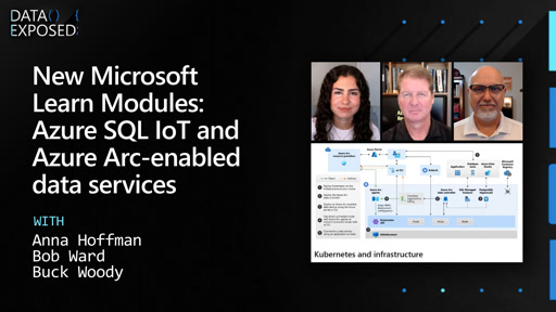 New Microsoft Learn Modules: Azure SQL IoT and Azure Arc-enabled data services
