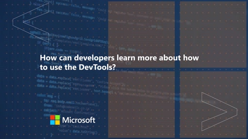 How can developers learn more about how to use the DevTools | One Dev Question