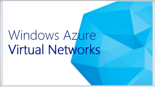 Windows Azure Virtual Networks & Storage