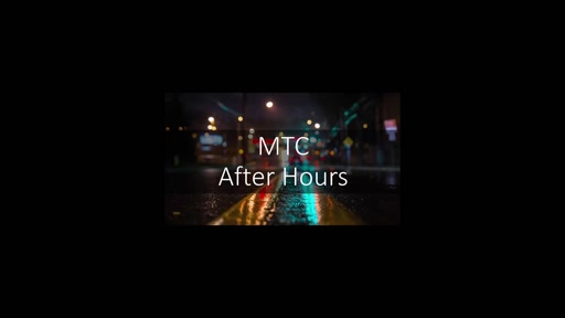 Intro Episode - What is MTC After Hours