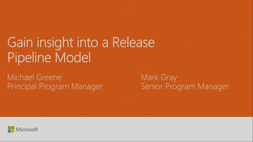 Gain insight into a Release Pipeline Model