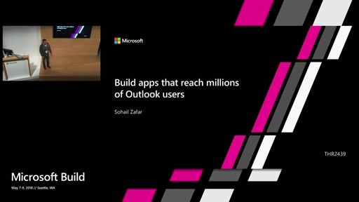 Build apps that reach millions of Outlook Users