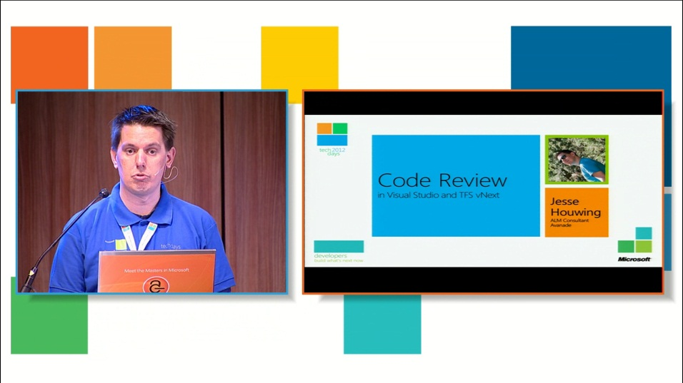 Code review features in TFS vNext