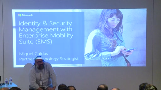 Identity and Security Management with Enterprise Mobility Suite (EMS)