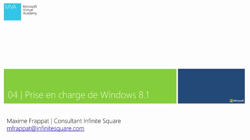 04 | Unity - Prise en charge de Windows 8.1