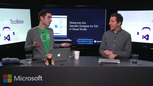 Designing iOS apps inside Visual Studio with Xamarin