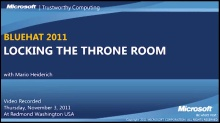 Locking the Throne Room - ECMA Script 5, a Frozen DOM and the Eradication of XSS