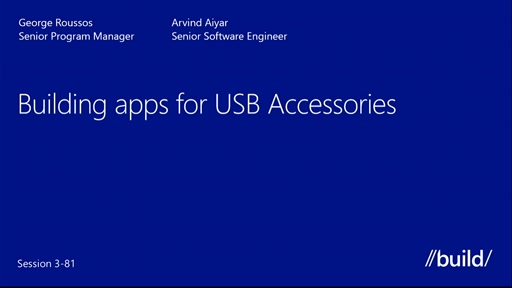 Apps for HID Devices | Build 2013 | Channel 9