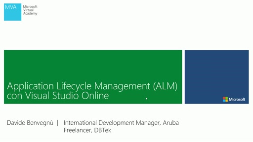 Application Lifecycle Management (ALM) con Visual Studio Online - Video 1