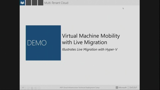 DEMO: Session 3.1 – Multi-Tenant Cloud for Hosting Providers