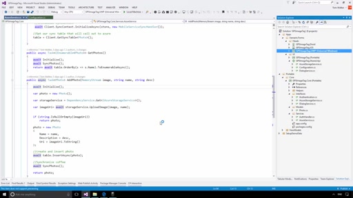 Community Content Presenter Training: Xamarin Session 1 Demo 1