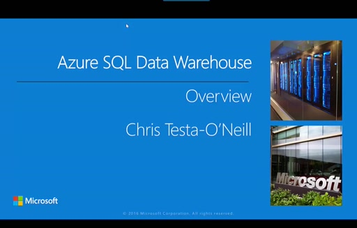 Part1– Azure SQL Data Warehouse Overview