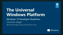 Windows 10 Developer Readiness [Germany]