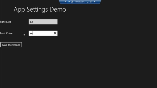 Creating Windows Store Apps Using Visual Basic: (05) Client Storage Options