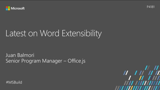 Latest on Word Extensibility