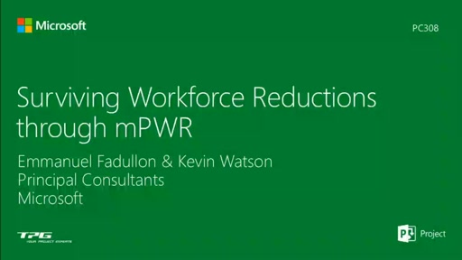 Surviving Workforce Reductions Through mPWR