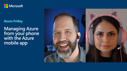 Managing Azure from your phone with the Azure mobile app