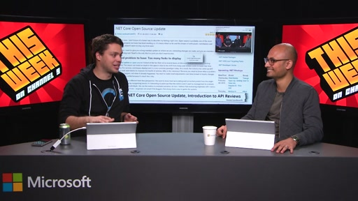 TWC9: .NET Core OSS Update, CoreCLR on GitHub, Windows 10 for Raspberry Pi 2, Super Bowl Stories and more