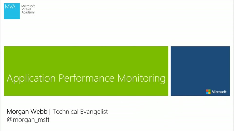 (Module 1) Overview of Application Performance Monitoring
