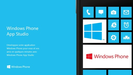 Windows Phone App Studio : créez votre application en quelques minutes